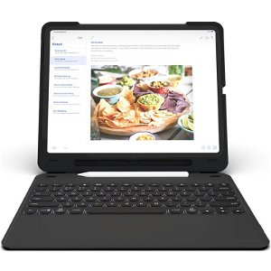"ZAGG Slim Book Go Keyboard Case Til iPad Pro 12.9"" 2018 m. Dansk Tastatur"